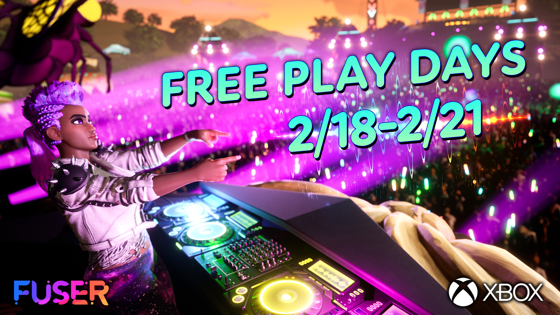 Play FUSER for FREE during Xbox's Free Play Days Event!