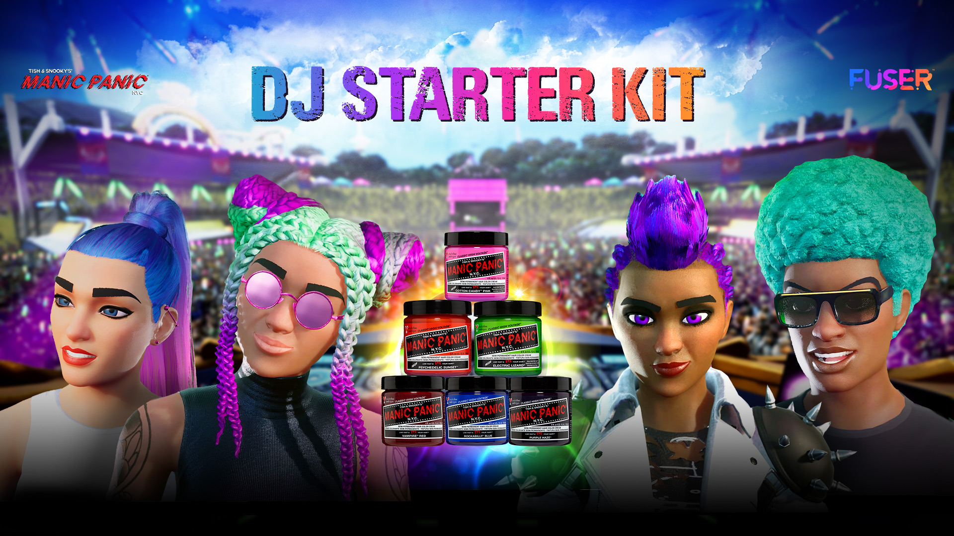 Unleash Your Inner DJ with FUSER and Manic Panic